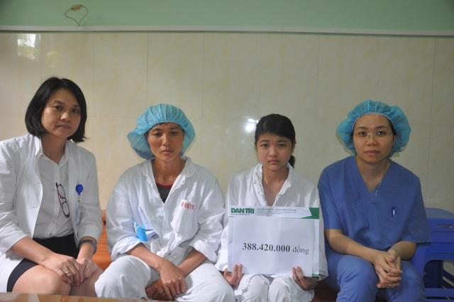 Bạn đọc Dân trí hỗ trợ cô gái trẻ ghép phổi hơn 800 triệu đồng - 2