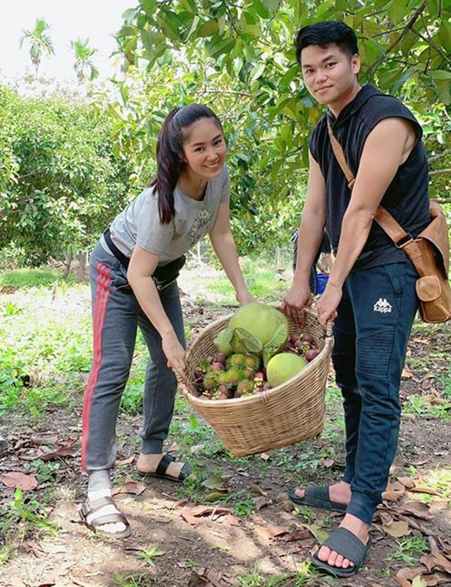 Vườn trái cây trĩu quả của gia đình diễn viên Lê Phươngở Tây Ninh - 6