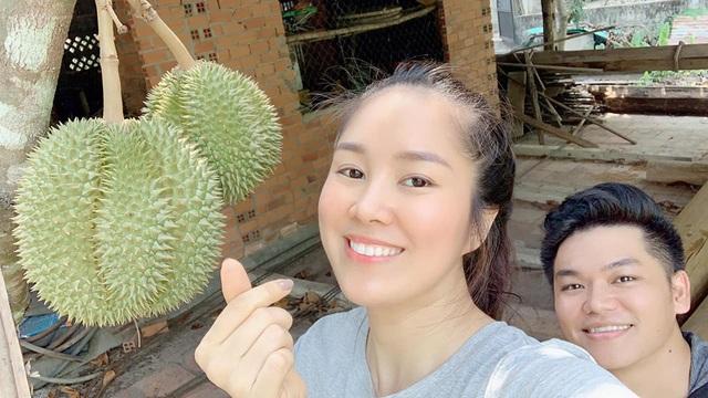 Vườn trái cây trĩu quả của gia đình diễn viên Lê Phươngở Tây Ninh - 7