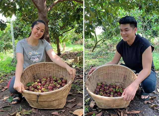 Vườn trái cây trĩu quả của gia đình diễn viên Lê Phươngở Tây Ninh - 9