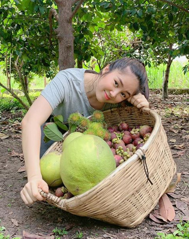 Vườn trái cây trĩu quả của gia đình diễn viên Lê Phươngở Tây Ninh - 11
