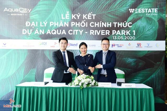 MGLAND Việt Nam chính thức phân phối phân khu River Park 1 của Aqua City - 1