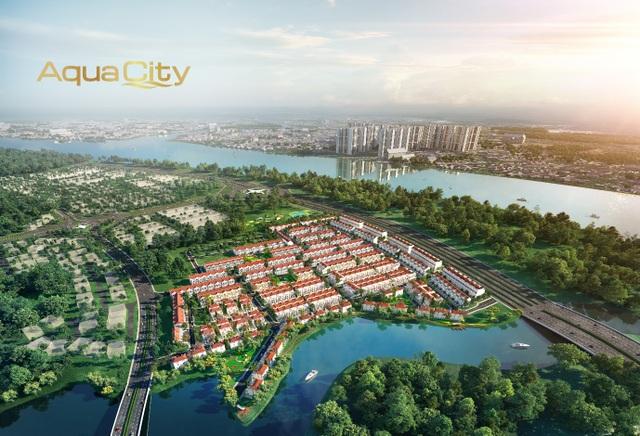 MGLAND Việt Nam chính thức phân phối phân khu River Park 1 của Aqua City - 2