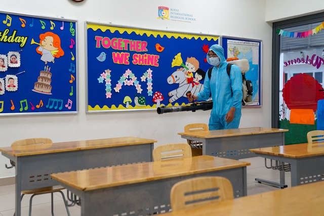 Ngày đầu đến trường tràn ngập niềm vui của thầy và trò Royal School - 4
