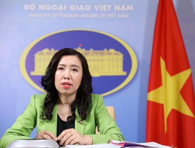 """Việt Nam lên tiếng việc được mời điện đàm ở """"Bộ tứ kim cương"""" mở rộng - 1"""