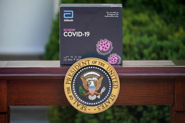 Nghi vấn bộ xét nghiệm Covid-19 dùng trong Nhà Trắng không chính xác - 1