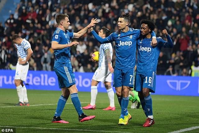 Ấn định ngày C.Ronaldo trở lại thi đấu tại Serie A - 1