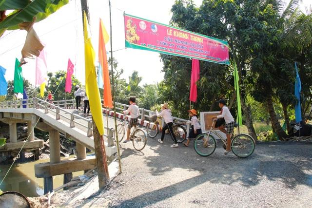 Công ty Ceragem khánh thành cây cầu mang tên Hy Vọng tại Đồng Tháp - 1