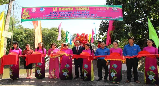 Công ty Ceragem khánh thành cây cầu mang tên Hy Vọng tại Đồng Tháp - 2
