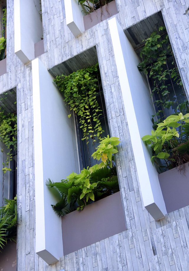 Ngỡ ngàng biệt thự ở Đà Nẵng xây cả công viên tuyệt đẹp trên sân thượng - 4