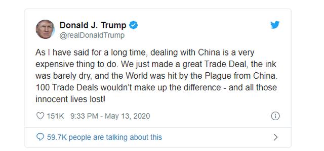 Ông Trump: 100 thỏa thuận thương mại không bù đắp được tổn thất do Covid-19 - 2