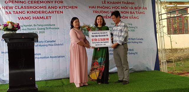 Quảng Trị: Khánh thành điểm trường Mầm non tại xã miền núi - 2
