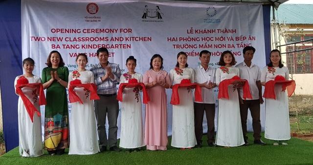 Quảng Trị: Khánh thành điểm trường Mầm non tại xã miền núi - 1