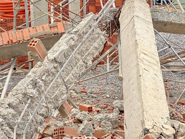 Vụ sập tường 10 người chết: Dừng thi công tất cả các hạng mục - 7