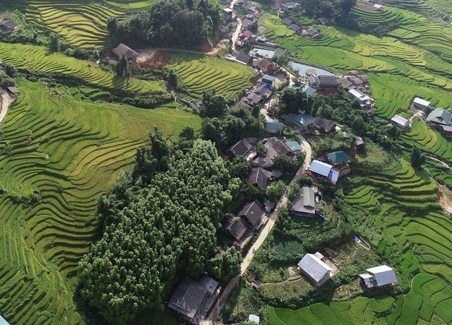 Những bản làng vùng cao đẹp như tranhvẽ - 10