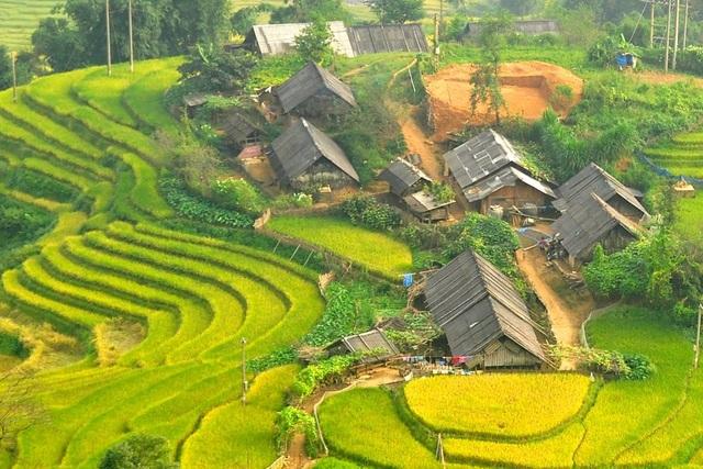 Những bản làng vùng cao đẹp như tranhvẽ - 1