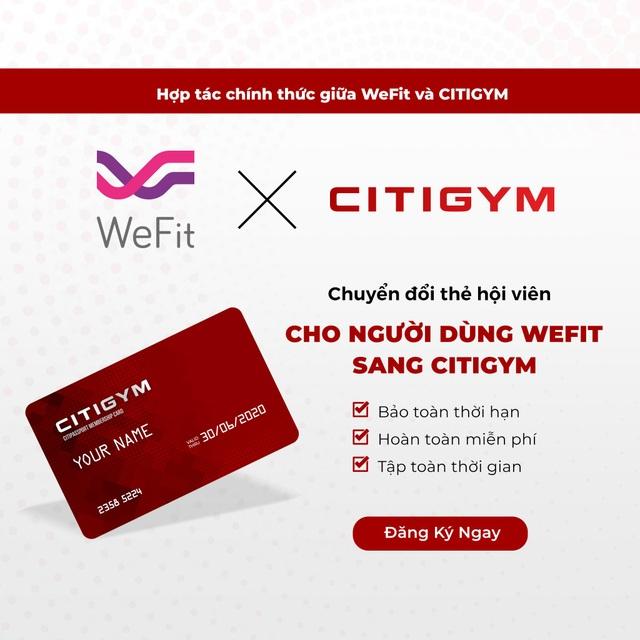 Wefit công bố chính thức đối tác hỗ trợ hội viên - 1