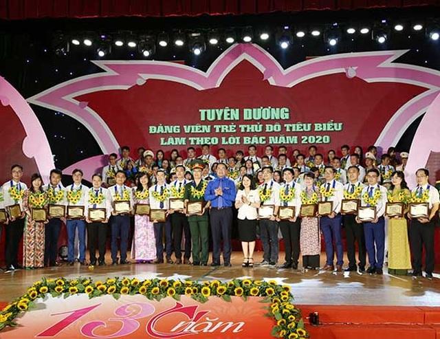 Hà Nội: Tuyên dương 90 gương Đảng viên trẻ tiêu biểu làm theo lời Bác - 1