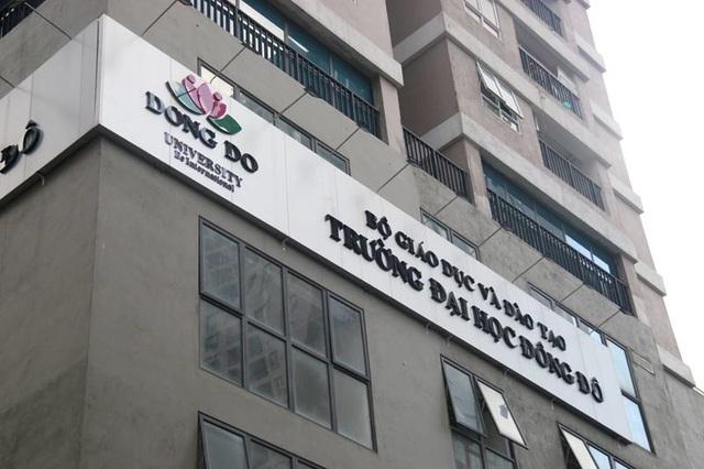 Bộ GD-ĐT trả lời về trách nhiệm liên quan tới sai phạm trường ĐH Đông Đô - 1