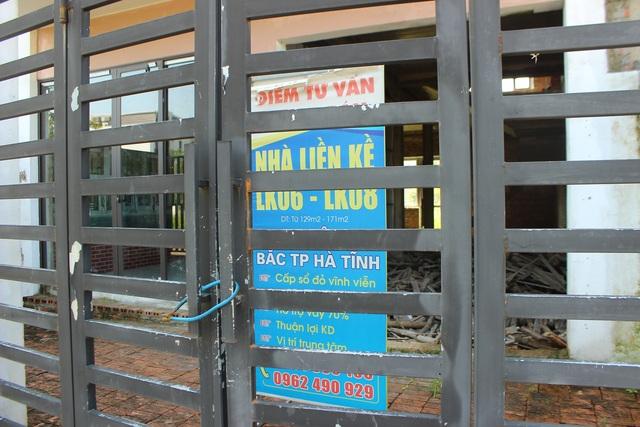 Hà Tĩnh: Hàng chục căn biệt thự hạng sang bỏ hoang giữa lòng thành phố - 11