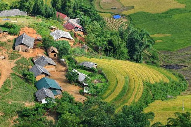 Những bản làng vùng cao đẹp như tranhvẽ - 7