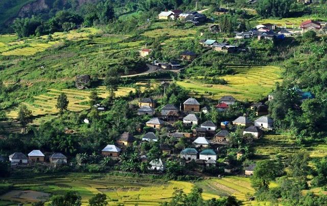Những bản làng vùng cao đẹp như tranhvẽ - 6