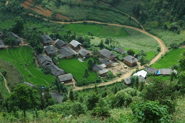 Những bản làng vùng cao đẹp như tranhvẽ - 8