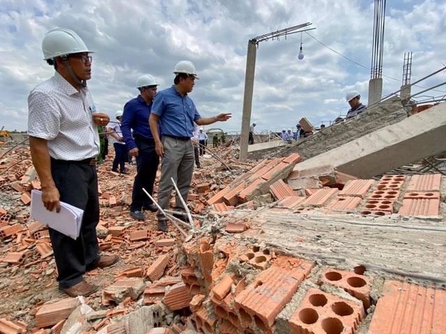 Bộ Xây dựng khảo sát hiện trường vụ sập tường 10 người tử vong - 3