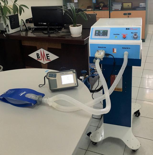 Trường ĐH Bách khoa Hà Nội chế tạo máy thở hỗ trợ điều trị Covid-19 - 1