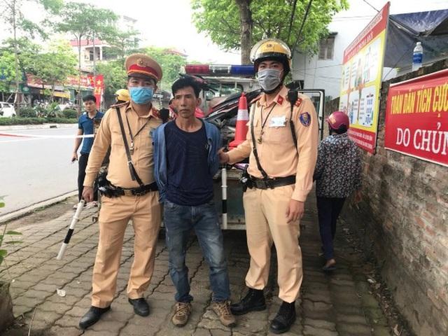 Hà Nội: Ngày đầu tổng kiểm soát phương tiện phát hiện người tàng trữ ma túy - 1