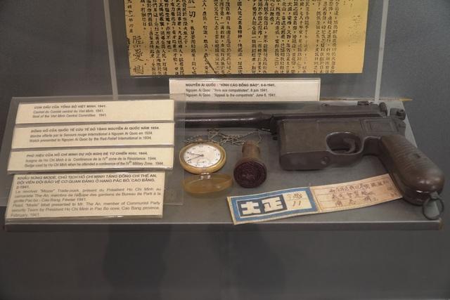 Cận cảnh hai khẩu súng đặc biệt của chiến sĩ bảo vệ Bác Hồ - 1