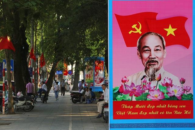 Thủ đô rực rỡ cờ hoa kỷ niệm 130 năm ngày sinh nhật Bác - 14