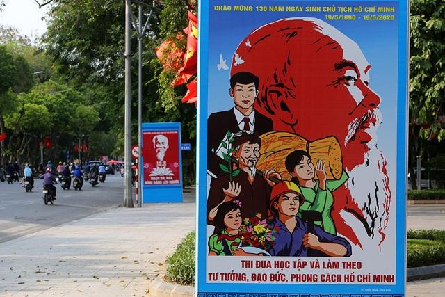 Thủ đô rực rỡ cờ hoa kỷ niệm 130 năm ngày sinh nhật Bác - 15