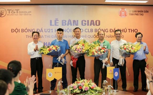 Được U21 Hà Nội chuyển giao, Phú Thọ đặt mục tiêu thăng hạng Nhất - 2