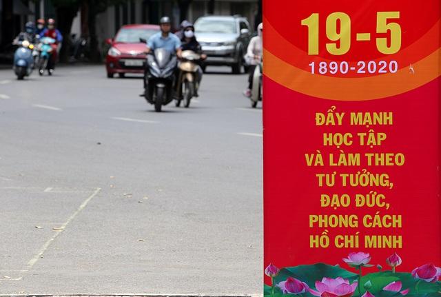 Thủ đô rực rỡ cờ hoa kỷ niệm 130 năm ngày sinh nhật Bác - 6