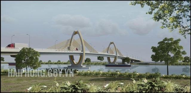 Khởi công 2 cây cầu lớn kết nối Hải Phòng - Hải Dương - 3