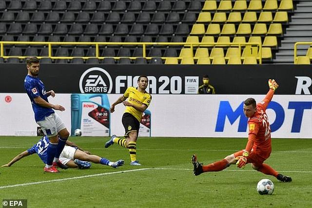 Những khoảnh khắc tỏa sáng của Haaland giúp Dortmund thắng đậm Schalke - 5