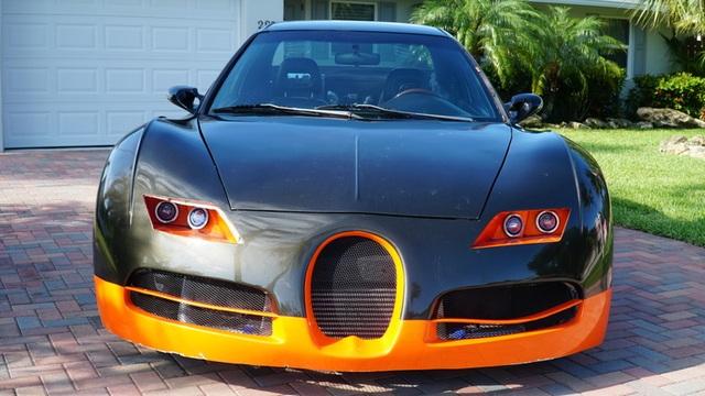 Hô biến Honda Civic thành… siêu xe Bugatti Veyron - 6