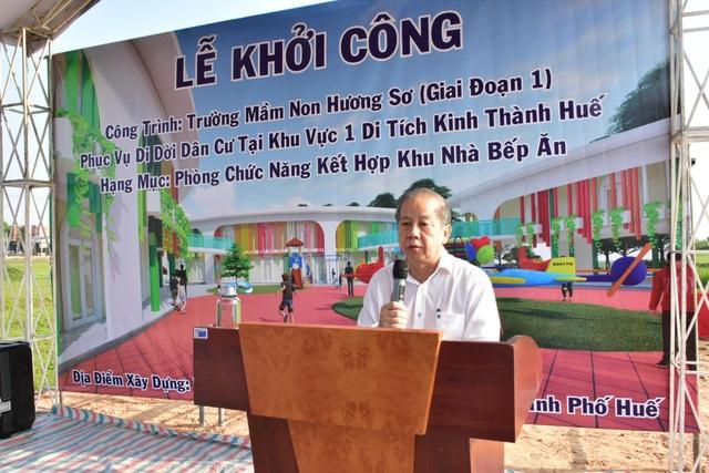 Huế: Xây trường mầm non phục vụ dân di cư Thượng Thành - 1