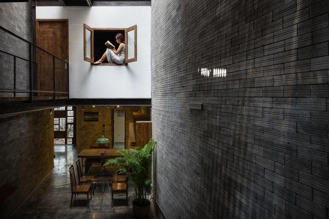 Độc đáo ngôi nhà mang phong cách thiền tĩnh lặng giữa lòng Sài Gòn - 3