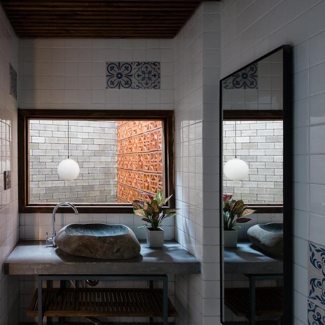 Độc đáo ngôi nhà mang phong cách thiền tĩnh lặng giữa lòng Sài Gòn - 7