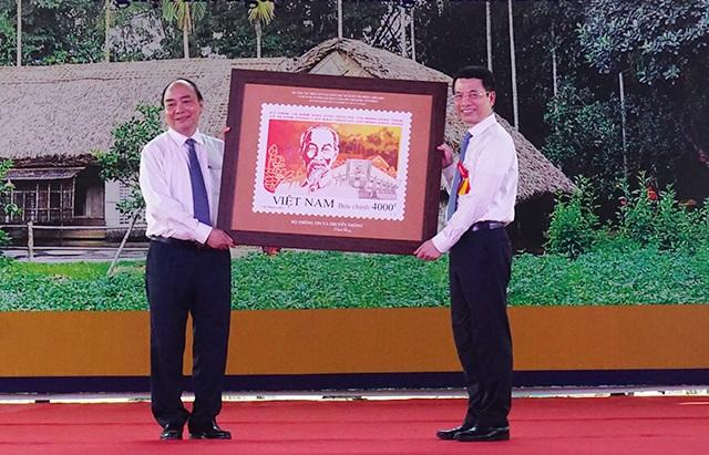 Phát hành đặc biệt bộ tem về Chủ tịch Hồ Chí Minh - 3