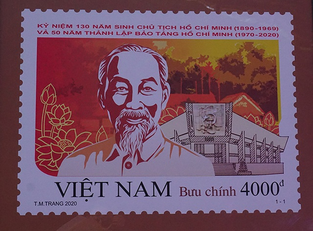 Phát hành đặc biệt bộ tem về Chủ tịch Hồ Chí Minh - 2