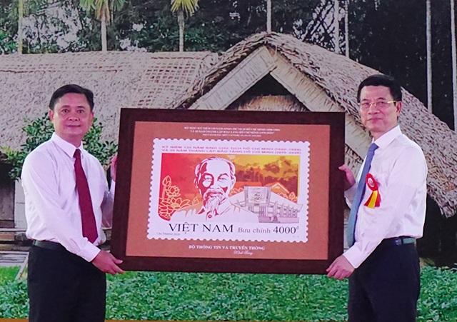 Phát hành đặc biệt bộ tem về Chủ tịch Hồ Chí Minh - 4