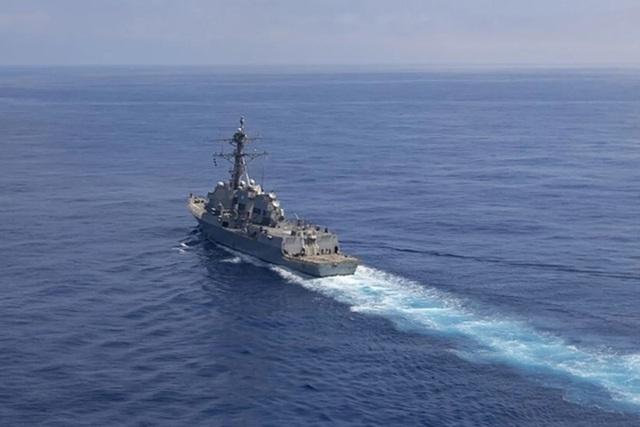 Tàu chiến Mỹ di chuyển gần Thượng Hải giữa lúc Mỹ - Trung căng thẳng - 1