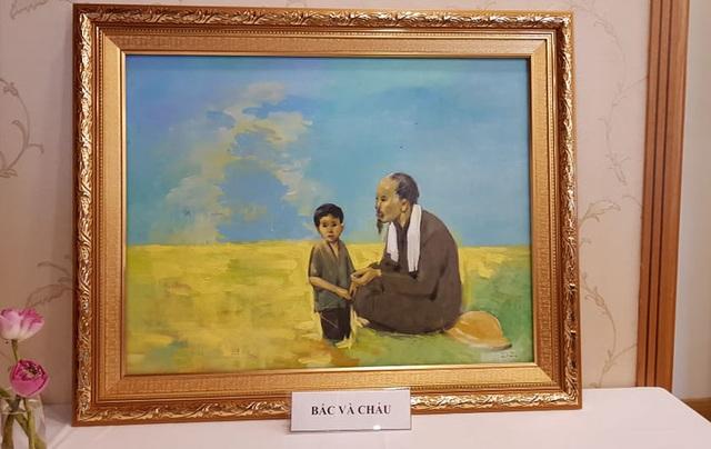 Ký ức không quên về Bác Hồ của tác giả triển lãm Tháng Năm nhớ Bác - 3