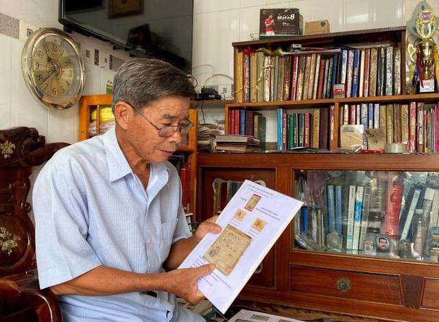 Lão nông miền Tây sở hữu 2.000 con tem quý về Bác Hồ - 7