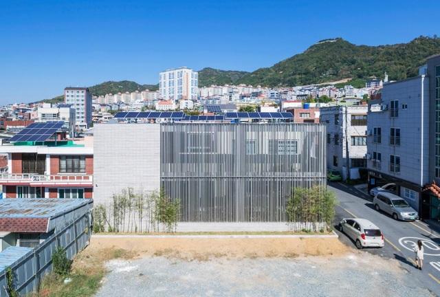 Khu vườn bí mật bên trong biệt thự thép độc đáo ở Hàn Quốc - 1
