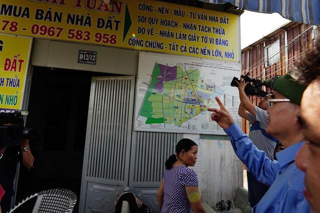Bí thư Nguyễn Thiện Nhân thị sát thực trạng xây dựng ở Bình Chánh - 8
