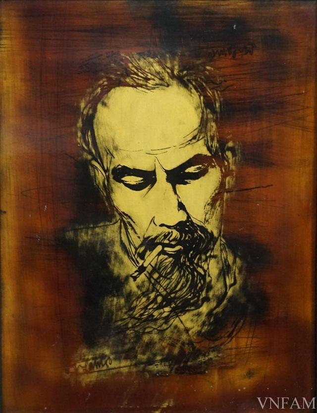 28 tác phẩm mỹ thuật đặc sắc về chân dung, sự nghiệp và cuộc đời Bác Hồ - 15
